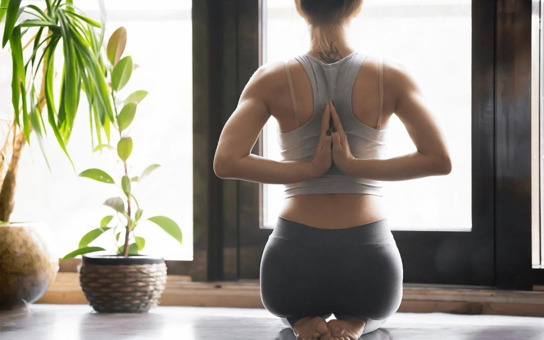 A quick 5-minute yoga flow